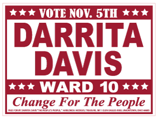 24x18 Campaign Sign